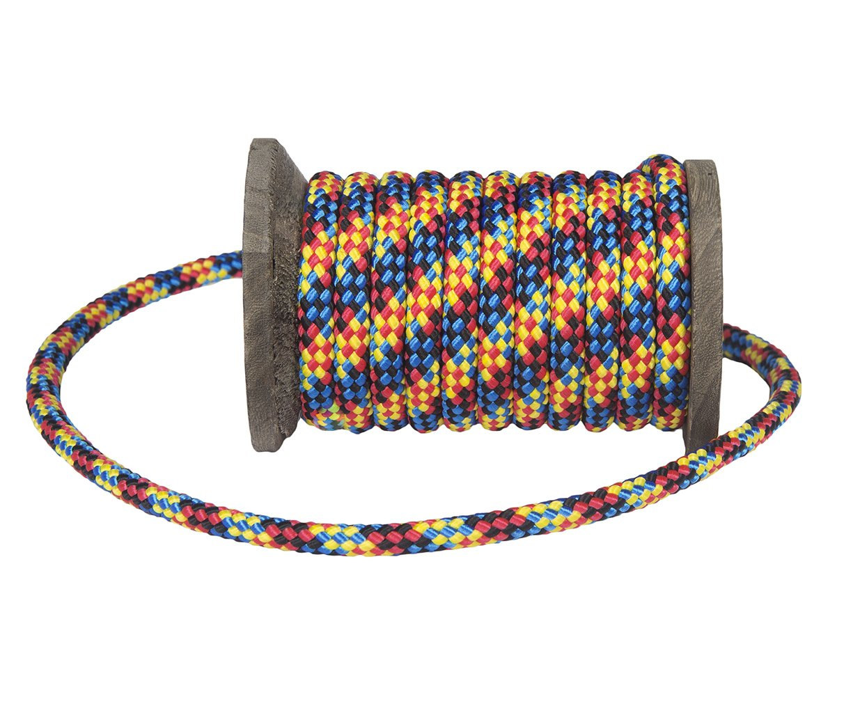 Ravenox by FMS Diamond Braid MFP Utility Rope | (Multi-Color)(3/8-in x 100 FT) | General Purpose Utility Cord for Camping, Bug Out Bags & Boating | Variety of Colors and Lengths | Made in The USA by FMS