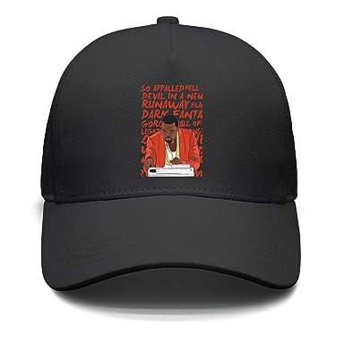 eeab8389 Amazon.com: Lenard Hughes Unisex Baseball Hats Kanye-west-My-Beautiful-Dark-Twisted-Fantasy-  Dad Caps: Clothing