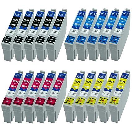 20 XL Cartuchos de Tinta Negro, Cian, Magenta, Yellow nuevo en ...
