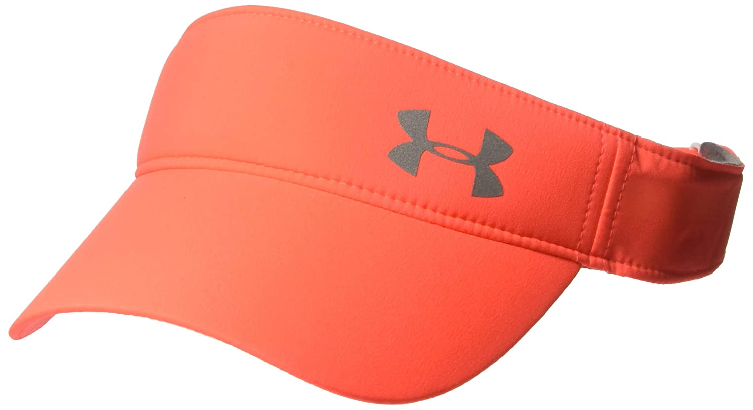 Under Armour Women's Fly-by Visor, Black/Silver, One Size Under Armour Accessories 1306292