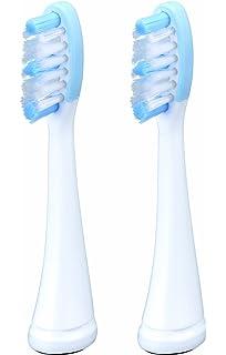 Panasonic WEW0929 - Cabezales con limpia-lenguas para cepillo de dientes eléctrico (2 unidades