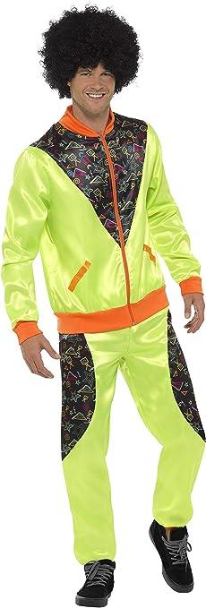 Smiffys Smiffys-43081XL Chándal Retro de Tactel, para Hombre ...