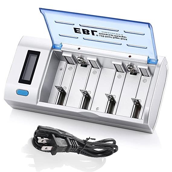 Review EBL Smart Battery Charger