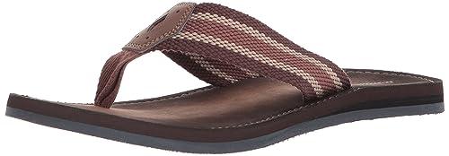 Clarks Men/'s Lacono Sun Flip//Flop Sandal Brown 26131598