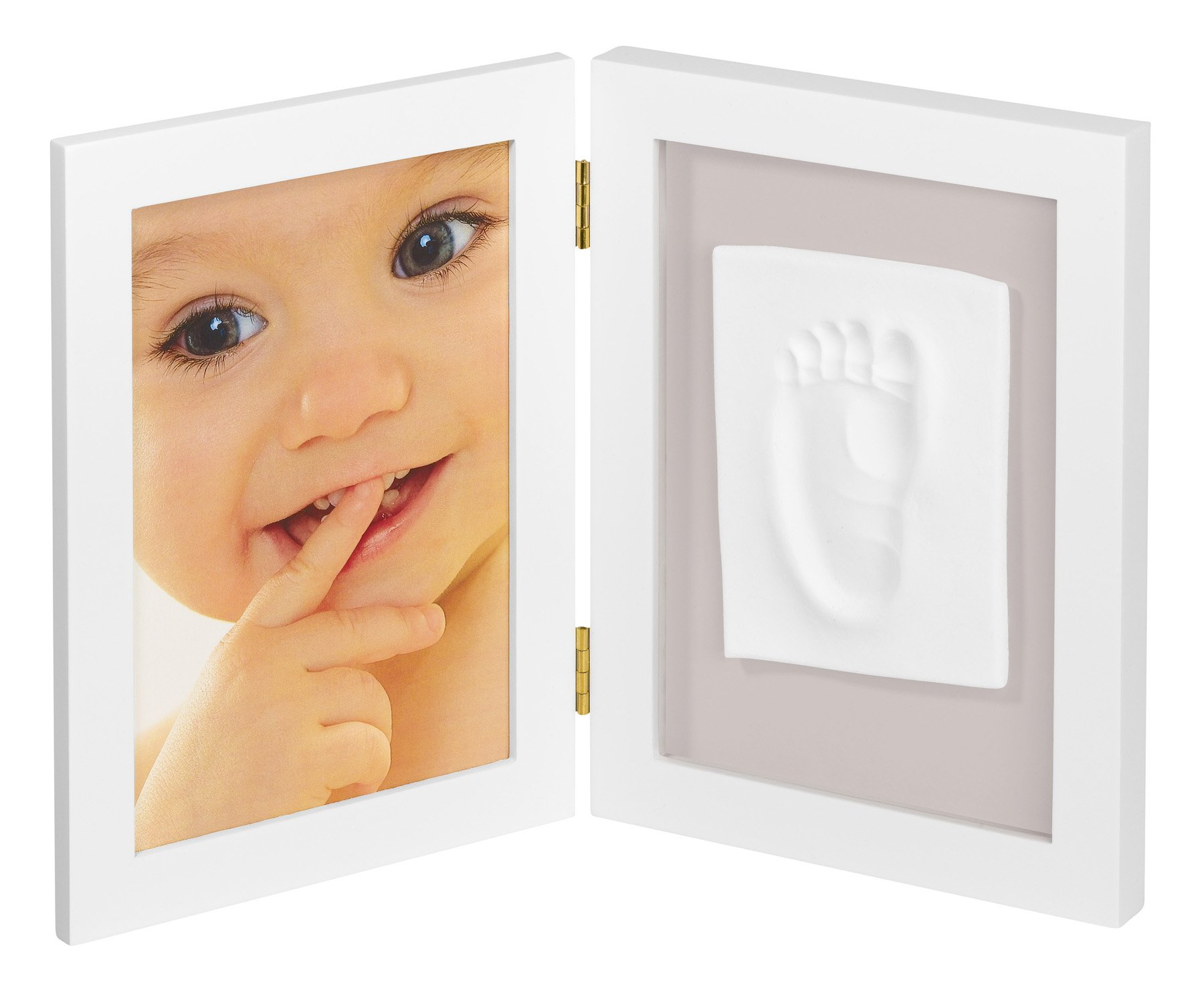 My Sweet Memories 2-Piece Picture Frame for Picture and Baby Print White product image