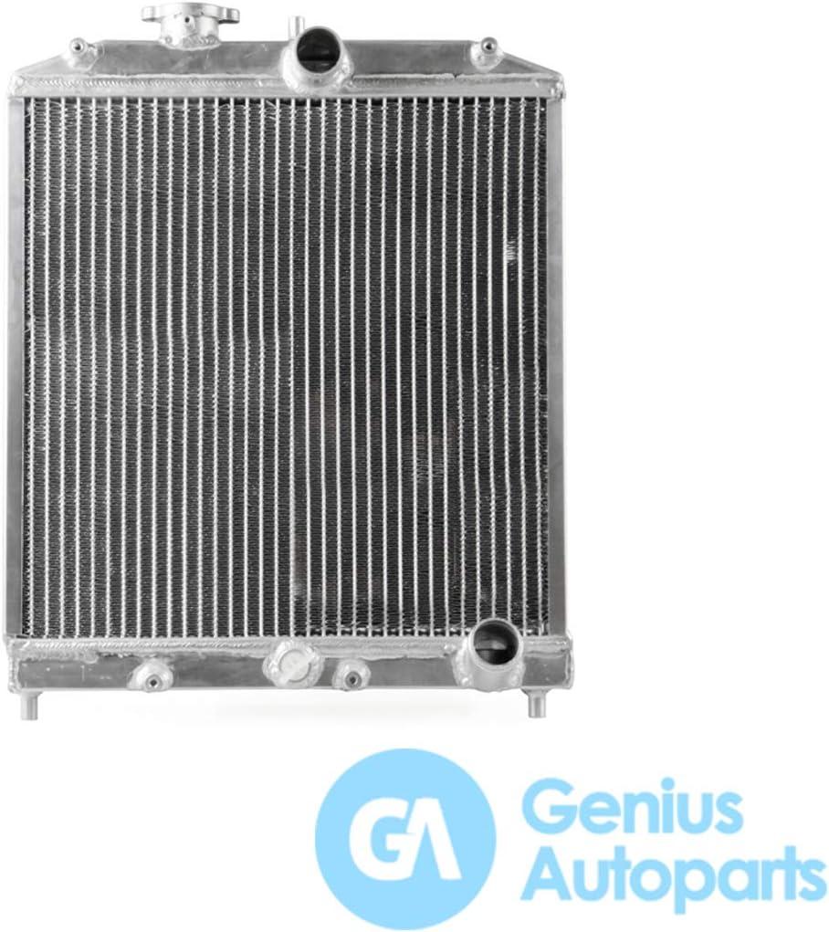 Genius Autoparts OT067 - Radiador de doble drenaje para coche