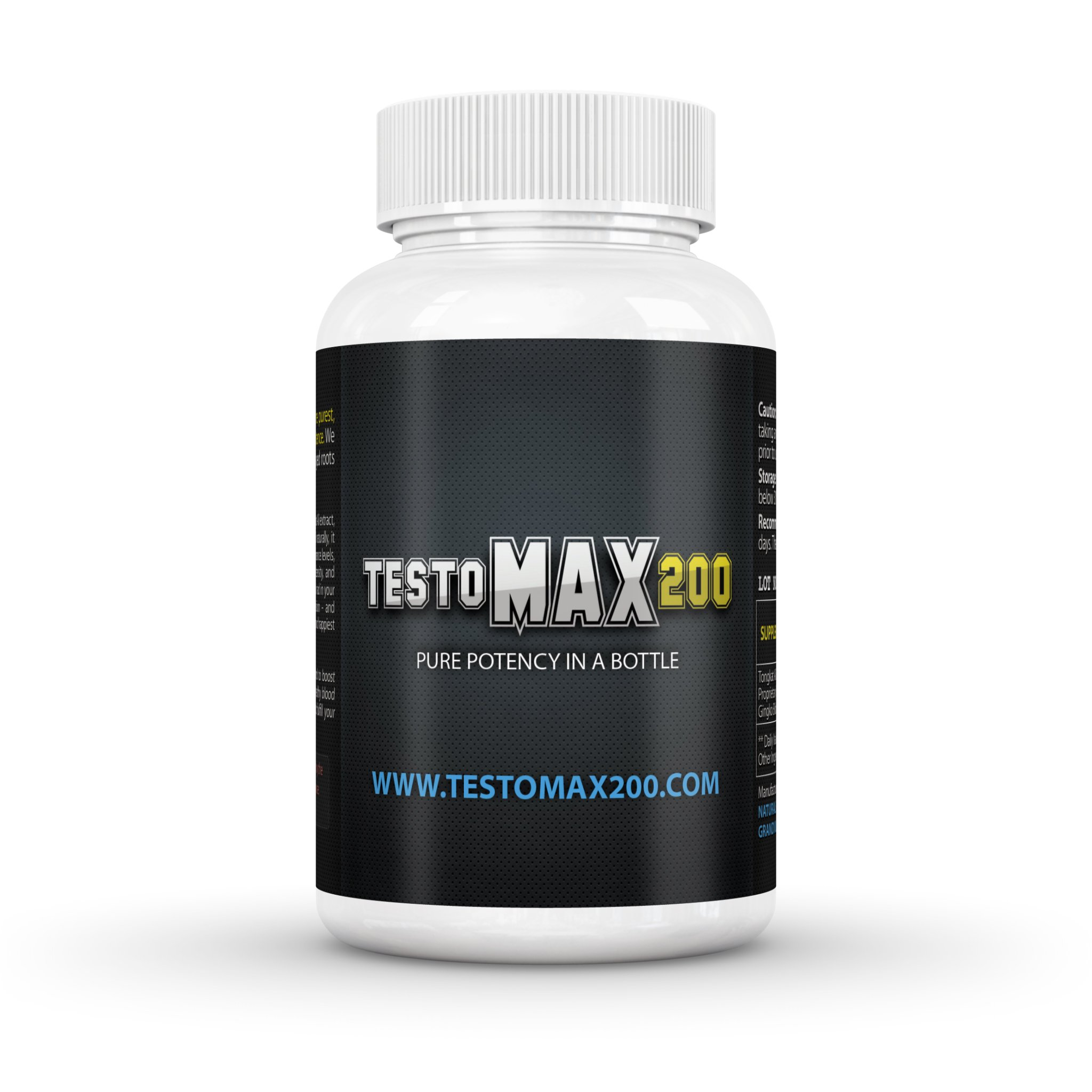 Testomax 200 - Testosterone Booster - Natural Testosterone Booster For Men