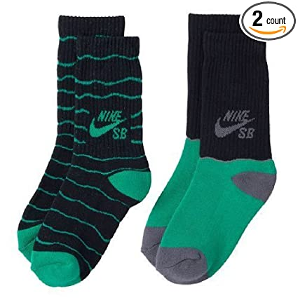 06109a81477754 Image Unavailable. Image not available for. Color  Nike SB 2-Pack Crew Socks  ...