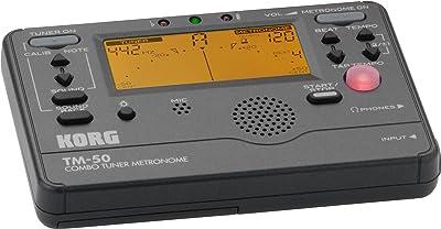 Korg TM50BK Instrument Tuner and Metronome