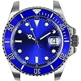 NOLOGO(ノーロゴ) 腕時計 サブマリーナ 電池式クォーツ デイト 逆回転防止ベゼル メンズ NL000S [並行輸入品]
