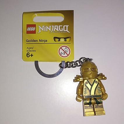 Amazon.com: LEGO dorado Ninja llavero: Toys & Games