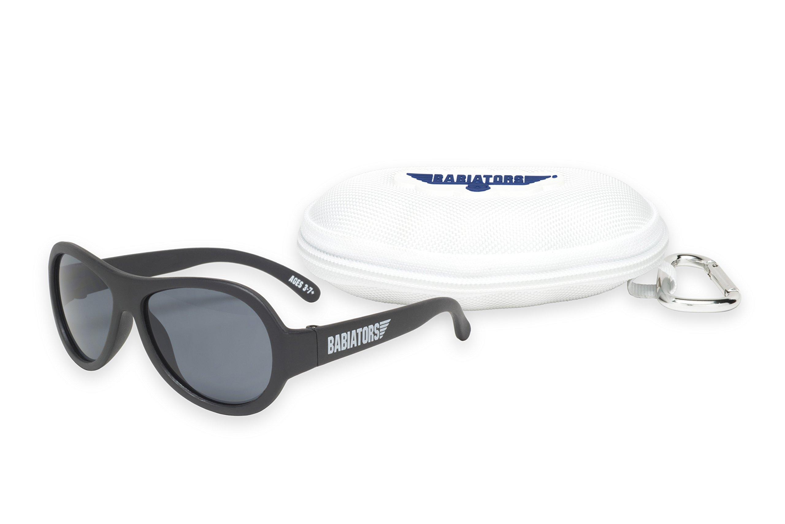 Babiators Gift Set - Black Ops Original Sunglasses (Ages 3-7+) and Cloud Case