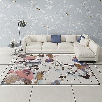 CHAI Teppich Dekoration Geometrische Muster Yoga Matte Wohnzimmer  Couchtisch Schlafzimmer Dekoration Nacht Teppich Teppich Teppiche (