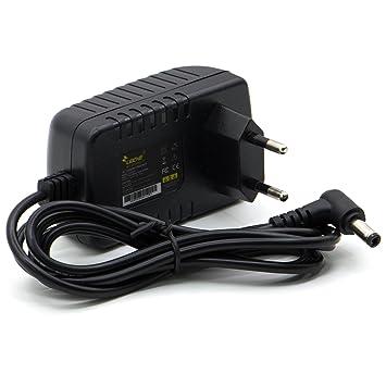 Leicke Cargador Universal Ull 9V 2A | Clavija DE 5,5 * 2,5mm |18W - para aparatos como Impresora de Etiquetas Letratag LT-100TLT-100H, LabelManager ...
