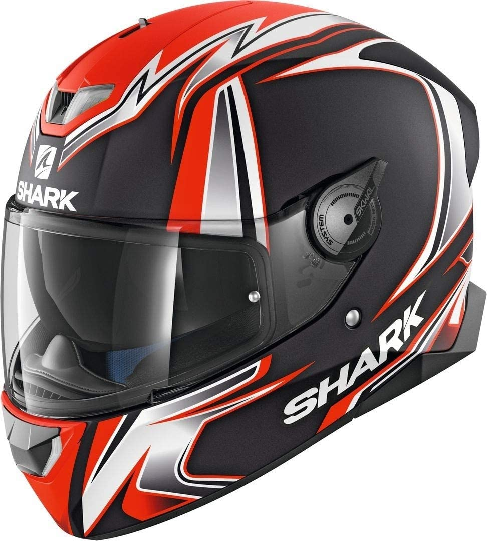 Shark Casque moto SKWAL 2 SYKES MAT KWO M Noir//Orange