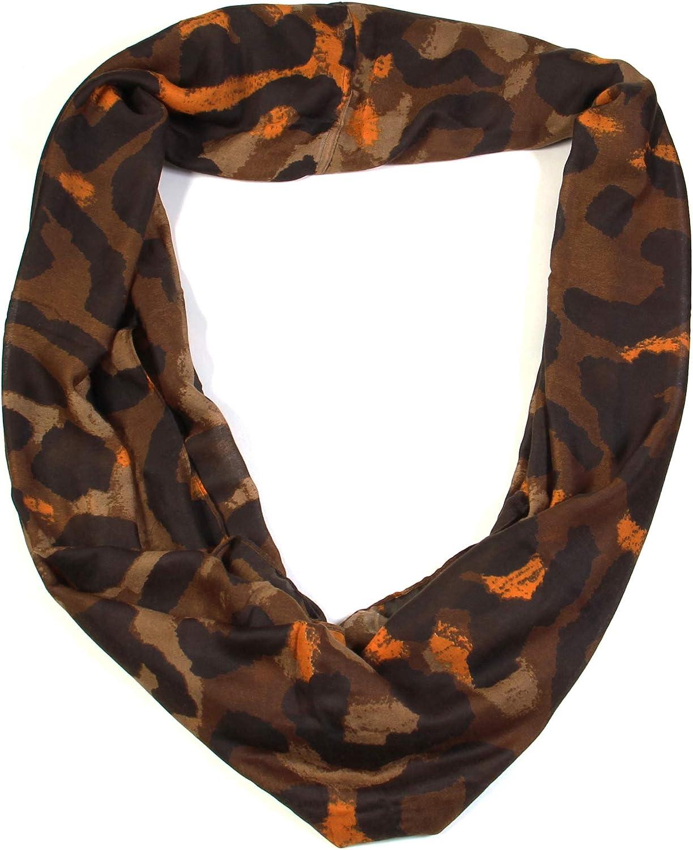 Scarfands Leopard Infinity Scarf