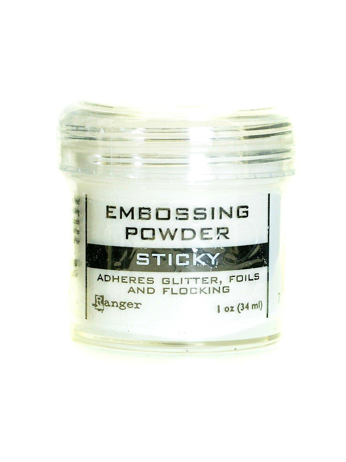 Ranger Sticky Embossing Powder 1 oz. jar [PACK OF 4 ]