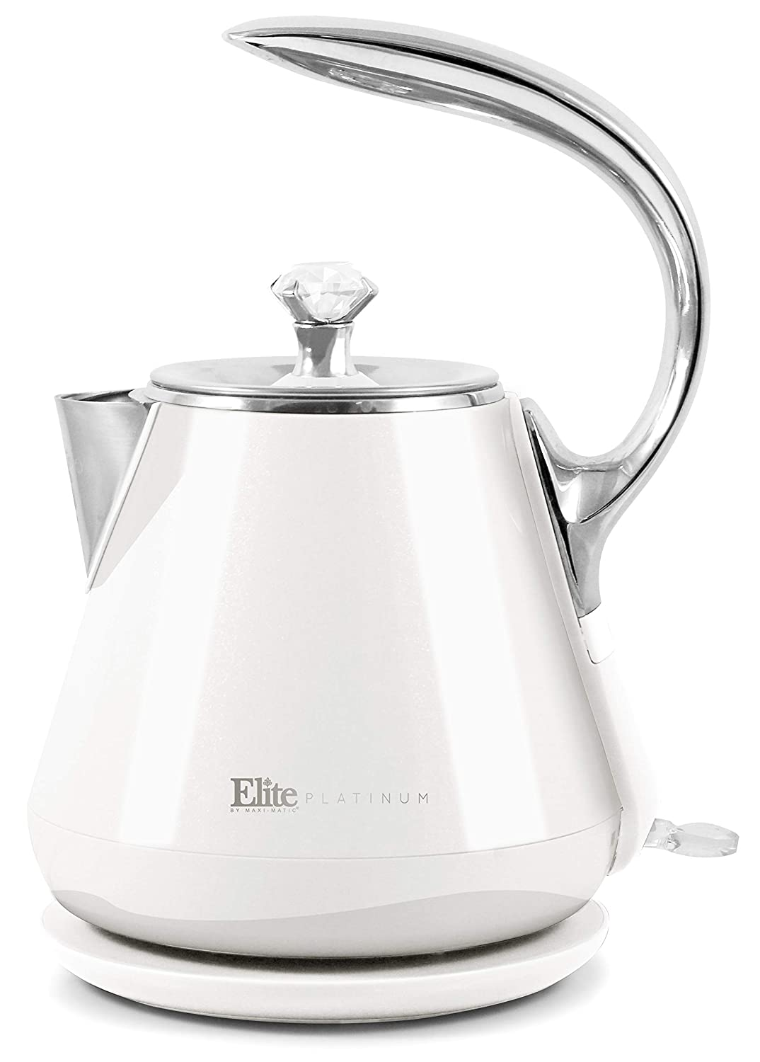Maxi Matic EKT-1203W Cool Touch, Auto Shut off Fast Boiling Water, 1.2 L, White