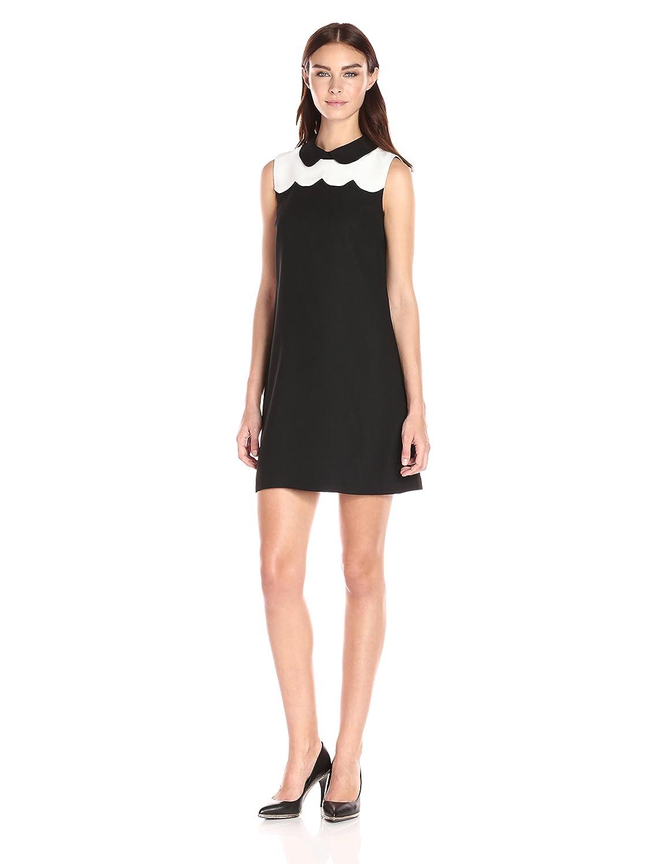 Cece By Cynthia Steffe Women S Hallie Sleeveless Scalloped Cb Dress