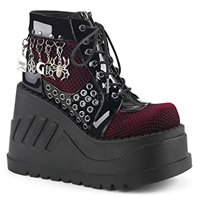 DEMONIAW Womens STOMP-18/BVL-BYVEL Boots