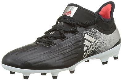 info for 445d5 50389 adidas Damen X 17.2 FG Fußballschuhe, Schwarz BlackPlatin Metalliccore  Red,