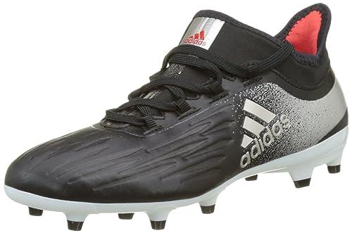 on sale 4edac 9d0f6 adidas X 17.2 Firm Ground Scarpe da Calcio Donna, Nero Black Platin  Metallic