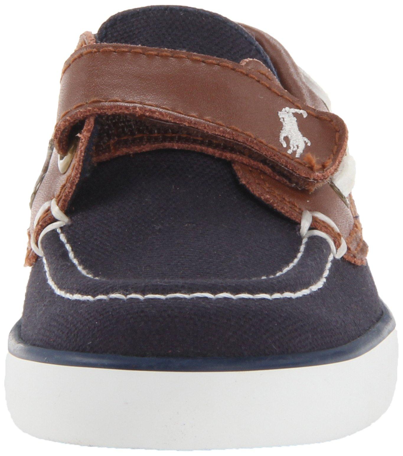 Polo Ralph Lauren Kids Sander-CL EZ Sneaker ,Navy,10.5 M US Little Kid by Polo Ralph Lauren (Image #4)