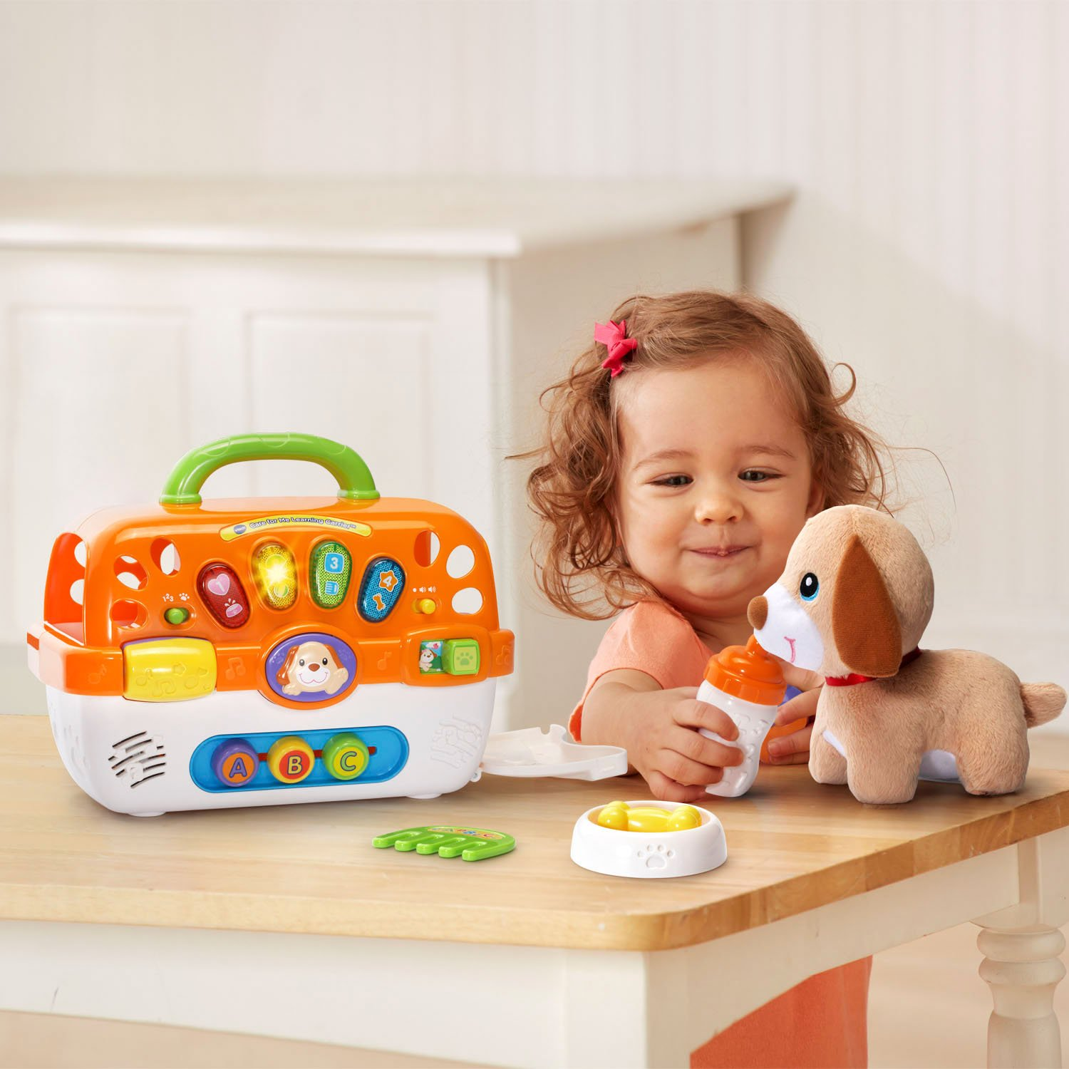 VTech Care for Me Learning Carrier Toy, Orange by VTech (Image #4)