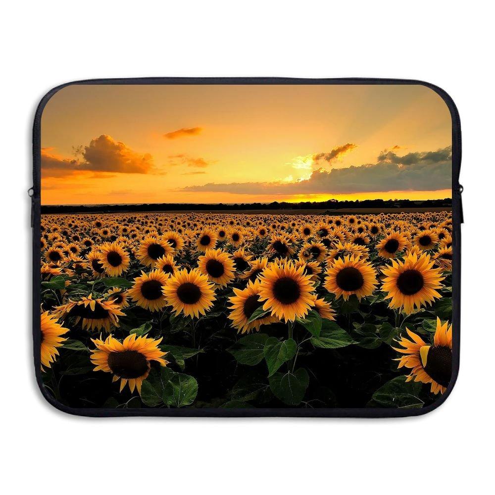 Computer Bag Laptop Case Sleeve Sunflowers Sunset Waterproof 13-15in IPad Macbook Surfacebook