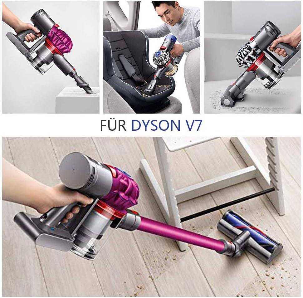 Sankett Batería para Dyson V7 Batería de Litio 21.6V 3000mAh Motorhead Aspirador inalámbrico Dyson V7 Animal Cordless Stick Vacuum V7 Motorhead Pro V7 Gatillo V7 Animal V7: Amazon.es: Hogar