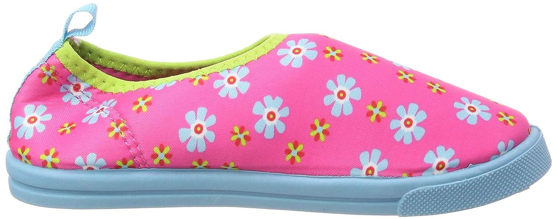 Playshoes Girls/' Uv-Schutz Aqua-Slipper Blumen Water Shoes
