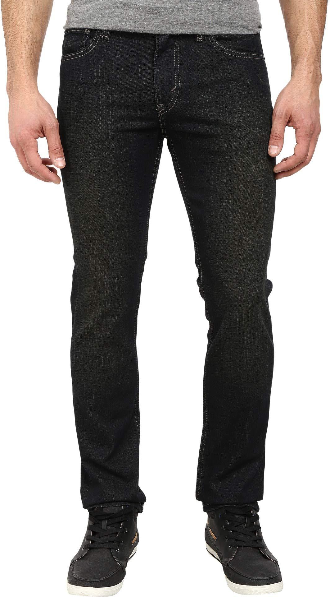 Levi's Men's 511 Slim Fit Jean, Clean Dark - Stretch, 36W x 32L