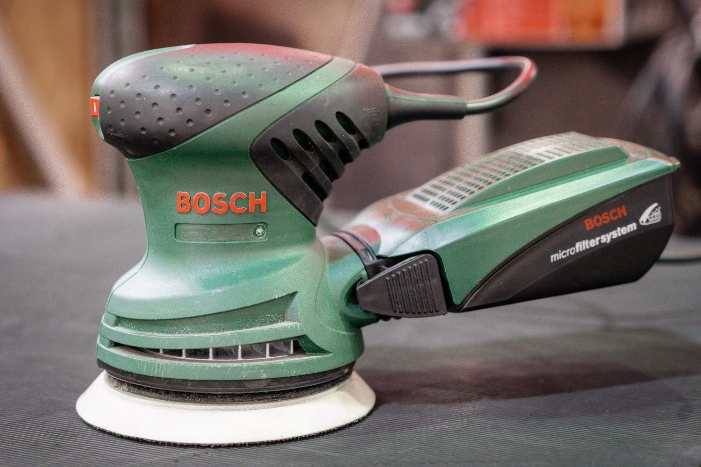 Plateau de pon/çage moyen pour Bosch PEX 220 A 125 mm disque abrasif