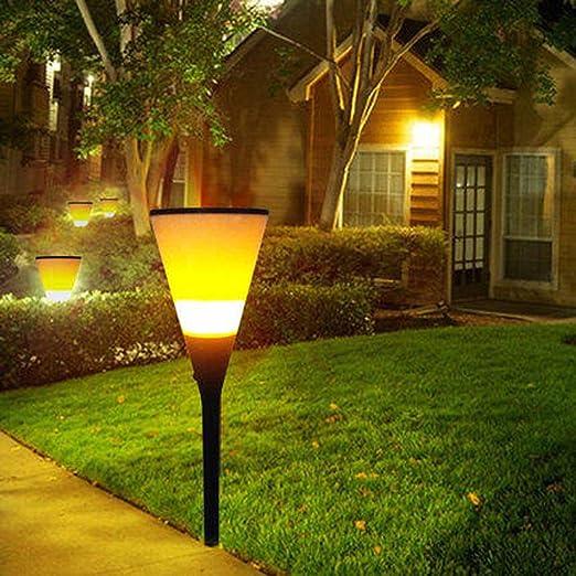 ZYHA Luz Solar Foco Exterior,antorcha Luces solares,Outdoor Luz ...