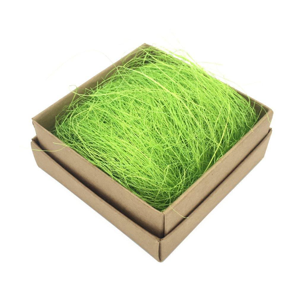 MagiDeal 100g Naturel Sisal Rustique Papier D/échiquet/é Artisanat Tissu D/échiquet/é Remplisseur de Cadeaux pour Bo/îtes-Cadeau Fabrication Artisanat Rose