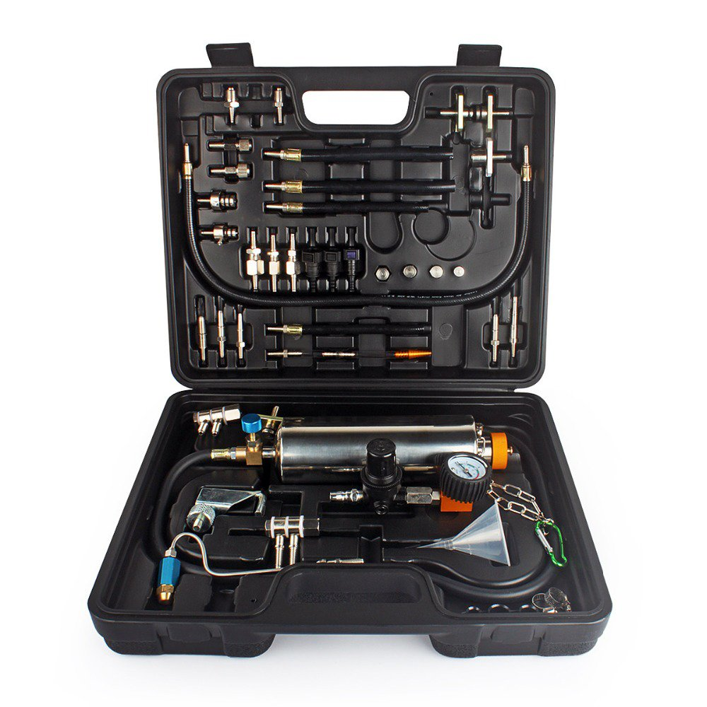 Wisamic Car Fuel System Clear iniettori Cleaner Tool set non-dismantle carburante iniettore tester e pulitore per benzina EFI Throttle benzina Cars