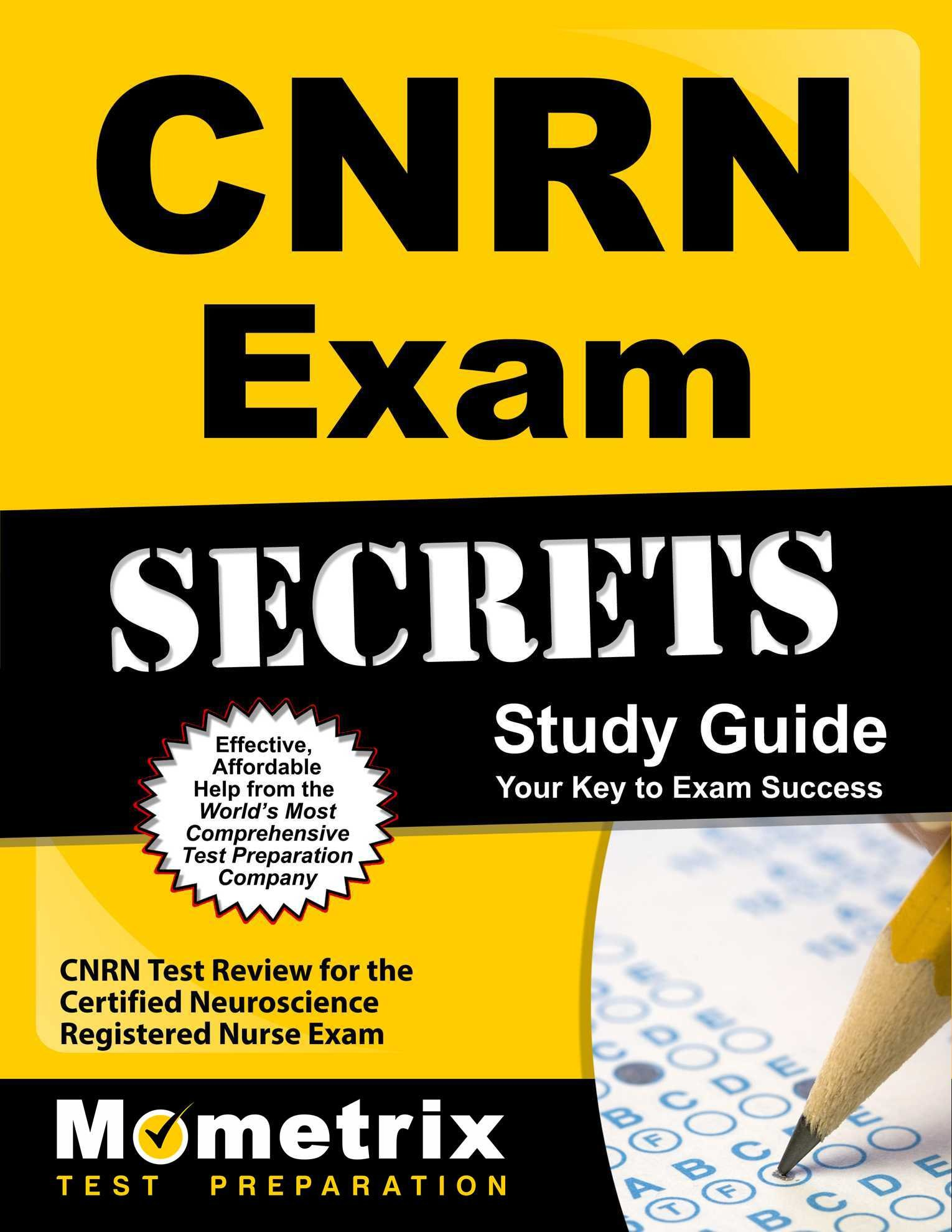 Cnrn Exam Secrets Study Guide Cnrn Test Review For The Certified