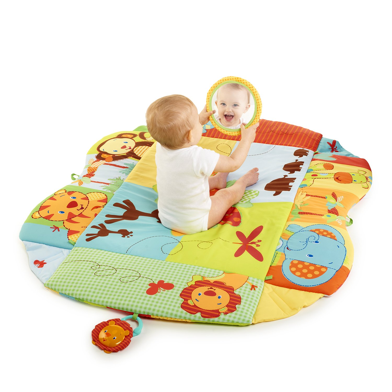 Amazon Bright Starts Baby s Play Place Playmat Swingin