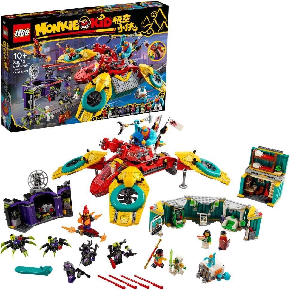 レゴ(LEGO) モンキーキッド モンキーキッドのドローンバスター 80023