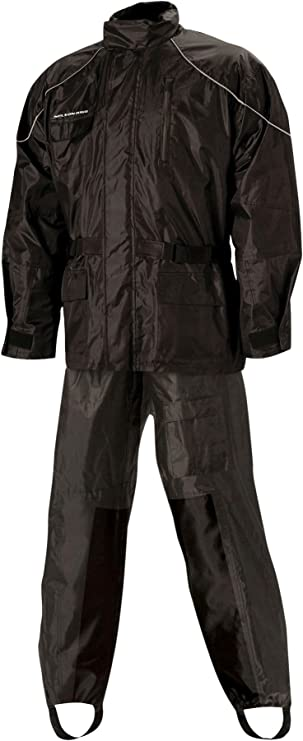 Hi-Visibility Yellow, Medium Nelson Rigg Unisex Adult AS-3000-HVY-02-MD Aston Motorcycle Rain Suit 2-Piece,