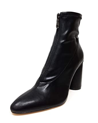 e6cc0cf339ee Amazon.com  Zara Women Heeled stretch ankle boots 1107 001  Clothing