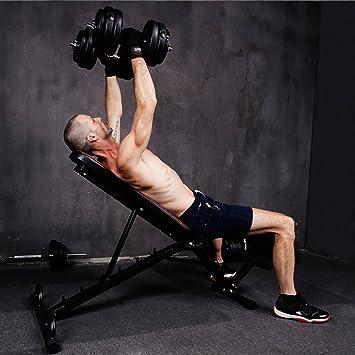 Banco De Pesas con pesas 40 kg Set 10000121 - Banco de entrenamiento ...
