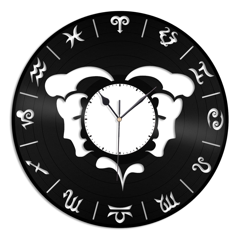vinylshopus Gemini Zodiac Unique vinylshopus Zodiac fashionedビニール壁時計のホームデコレーション装飾|ユニークなギフト記念日|ホームデコレーション装飾 Gemini B07CRVLNPR, 美濃加茂市:d9de6db1 --- ijpba.info
