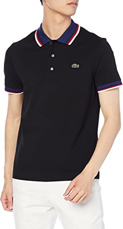 [ラコステ] ポロシャツ [公式] トリコロールリブニットポロシャツ メンズ PH3461L