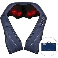 Naipo Massageapparaat schouder nekmassageapparaat met warmtefunctie voor rug Shiatsu massageapparaten 3D-rotatie massage…