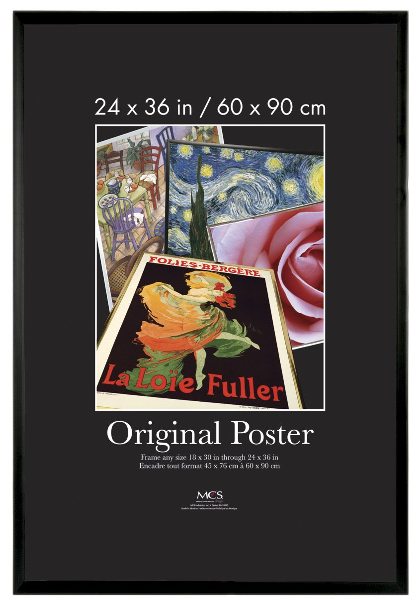 Amazon.com - MCS 24x36 Inch Original Poster Frame, Black (22446) -