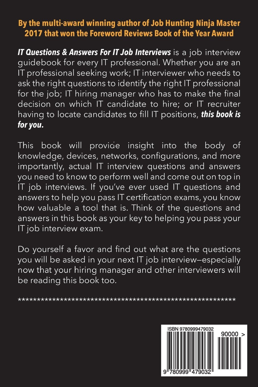 IT Questions & Answers For IT Job Interviews (Service ...
