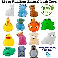 Techhark Soft Bath Toys Chu-Chu Toys - 12 pcs