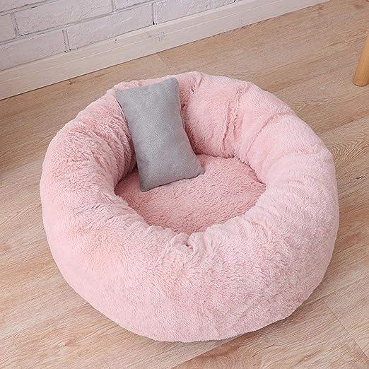 TaSeux Cojín Redondo con Forma de Donut para Gatos y Perros ...