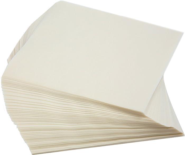 Norpro 3404 Square Wax Paper, 250 Pieces, Small, White